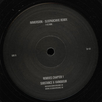Cover art - Substance & Vainqueur: Remixes Chapter 1