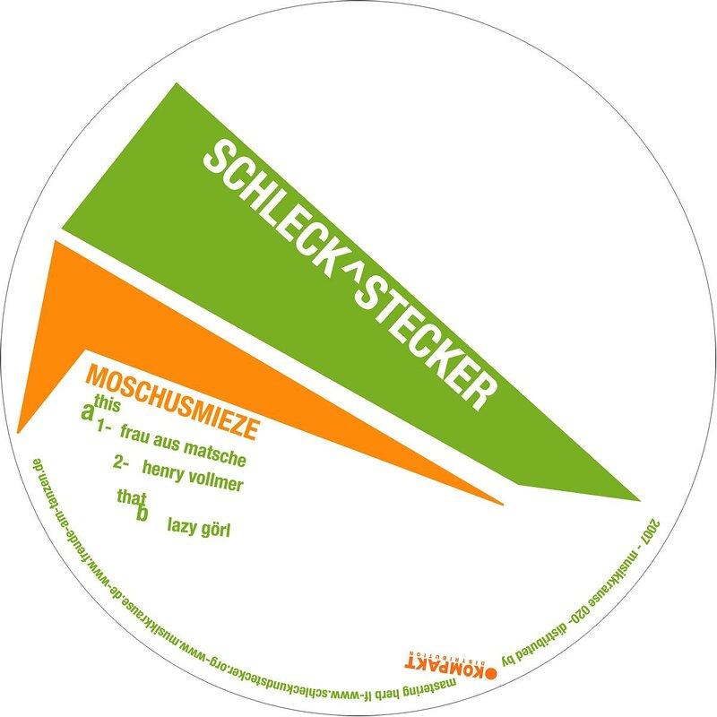 Cover art - Schleck & Stecker: Moschusmieze EP