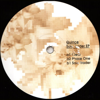 Cover art - Quince: Sole Trader EP