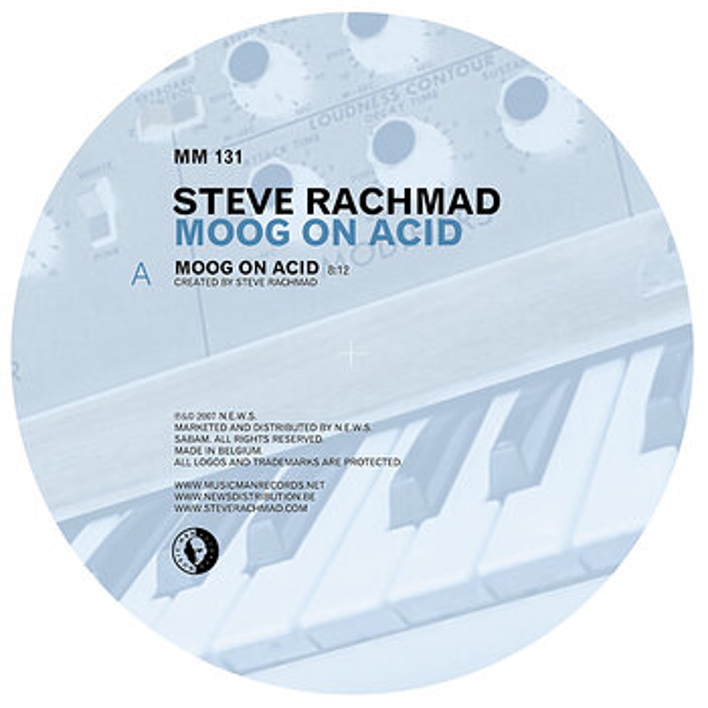 Cover art - Steve Rachmad: Moog On Acid