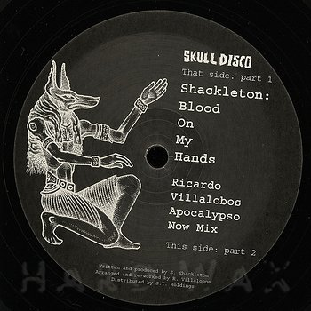 Cover art - Shackleton: Blood On My Hands (Ricardo Villalobos Apocalypso Now Mix)