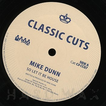 Cover art - Mike Dunn: So Let It Be House