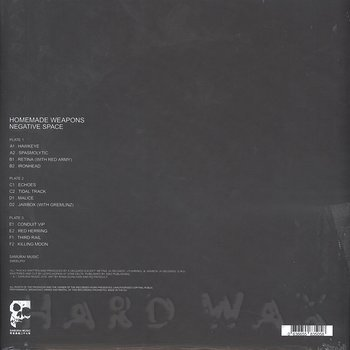 Cover art - Homemade Weapons: Negative Space