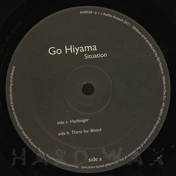 Cover art - Go Hiyama: Situation