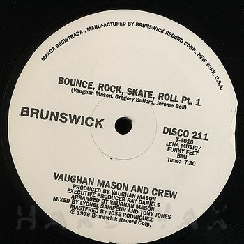 Cover art - Vaughan Mason And Crew: Bounce, Rock, Skate, Roll
