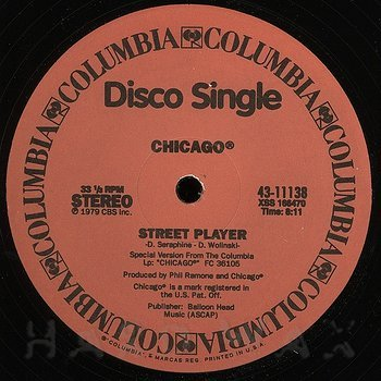 Cover art - Chicago: Street Player