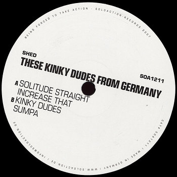 Cover art - Shed: These Kinky Dudes From Germany