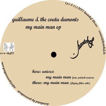 Cover art - Guillaume & The Coutu Dumonts: My Main Man EP