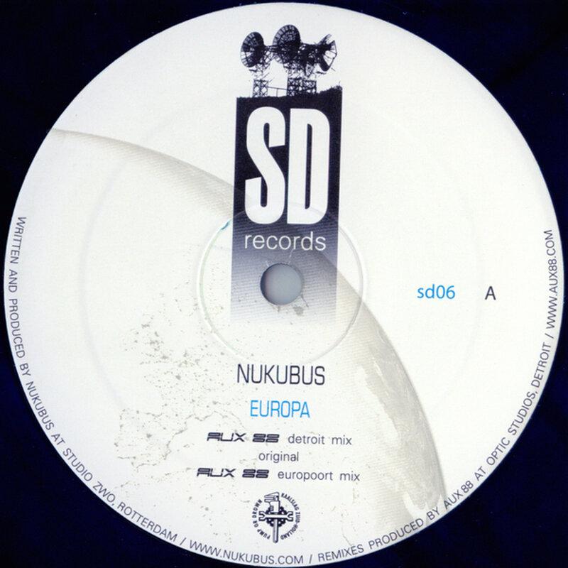 Cover art - Nukubus: Europa