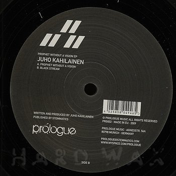 Cover art - Juho Kahilainen: Prophet Without A Vision EP