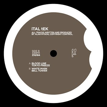Cover art - Ital Tek: Blood Line
