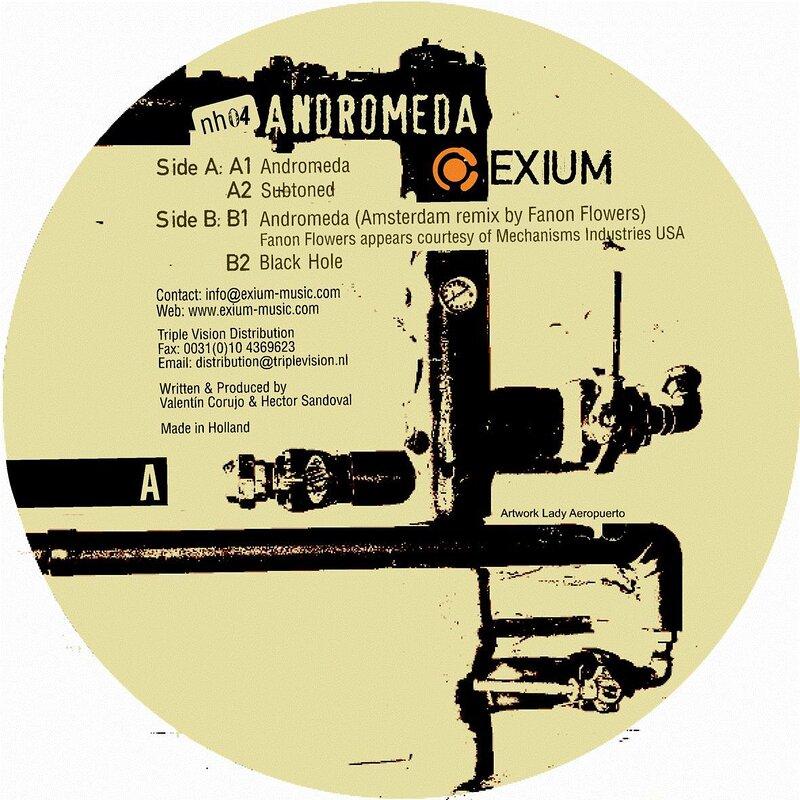 Cover art - Exium: Andromeda