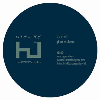 Cover art - Burial: Ghost Hardware