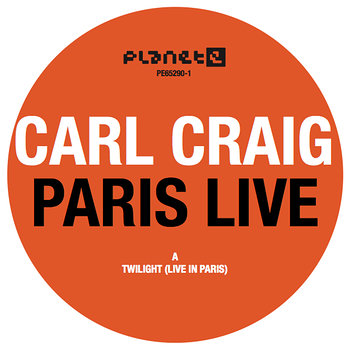 Cover art - Carl Craig: Paris Live