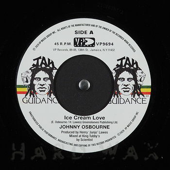 Cover art - Johnny Osbourne: Ice Cream Love