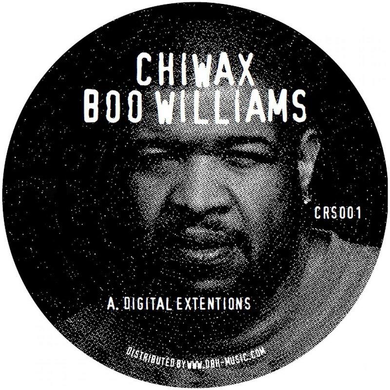 Cover art - Boo Williams / Simoncino: Split EP
