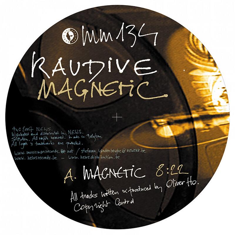 Cover art - Raudive: Magnetic