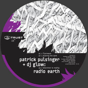 Cover art - Patrick Pulsinger + DJ Glow: Radio Earth