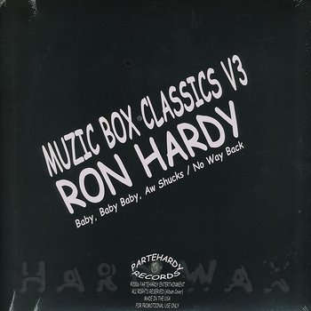Cover art - Ron Hardy: Music Box Classics Vol. 3