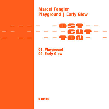 Cover art - Marcel Fengler: Playground