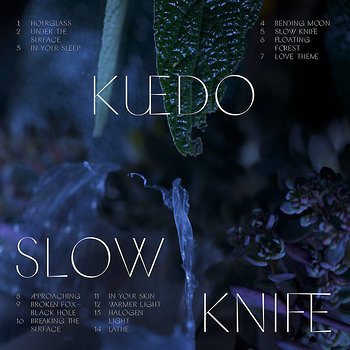 Cover art - Kuedo: Slow Knife