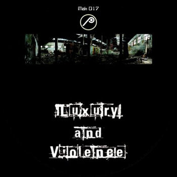 Cover art - Various Artists: Luxury & Violence