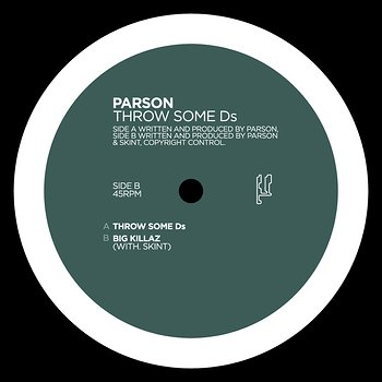 Cover art - Parson: Throw Some Ds