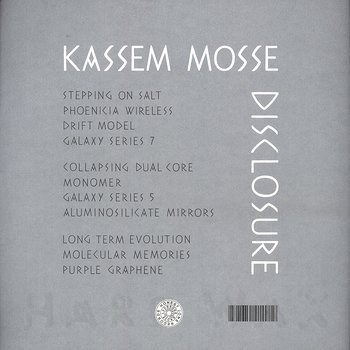 Cover art - Kassem Mosse: Disclosure