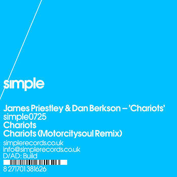 Cover art - James Priestley & Dan Berkson: Chariots