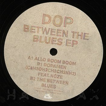 Cover art - Dop: Between The Blues EP