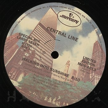 Cover art - Central Line: Walking Into Sunshine