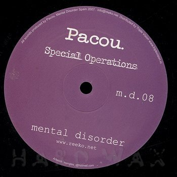 Cover art - Pacou: Special Operations