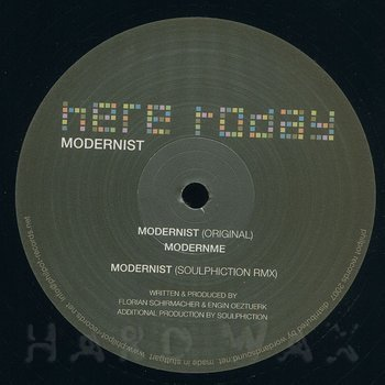 Cover art - Here Today: Modernist