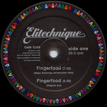Cover art - Elitechnique: Fingerfood