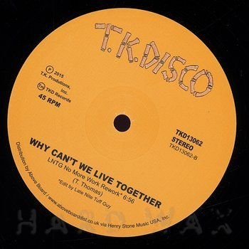 Cover art - Timmy Thomas: Why Can't We Live Together