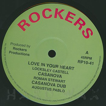 Cover art - Lacksley Castell: Love In Your Heart