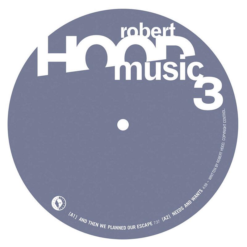 Cover art - Robert Hood: Hoodmusic 3