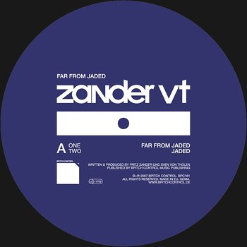 Cover art - Zander VT: Far From Jaded