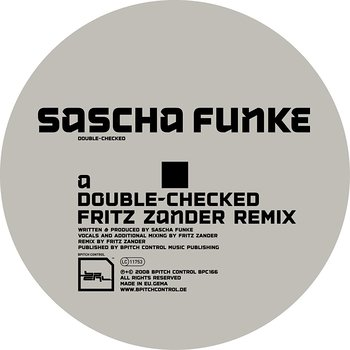 Cover art - Sascha Funke: Double Checked