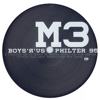 Cover art - Boys 'R' Us: Philter 95