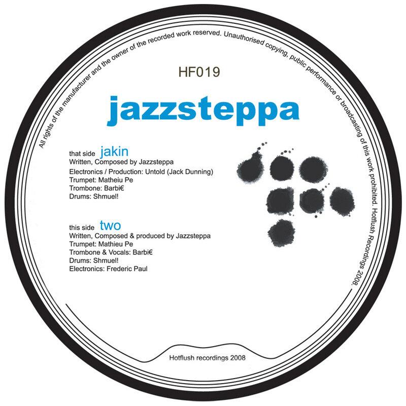 Cover art - Jazzsteppa: Jakin'