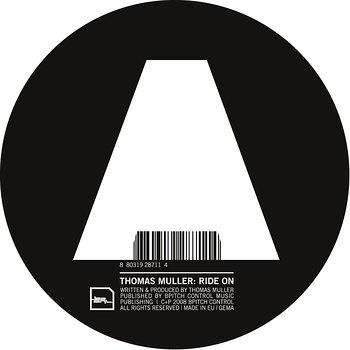 Cover art - Thomas Muller: Ride On