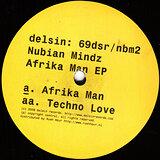 Cover art - Nubian Mindz: Afrika Man EP