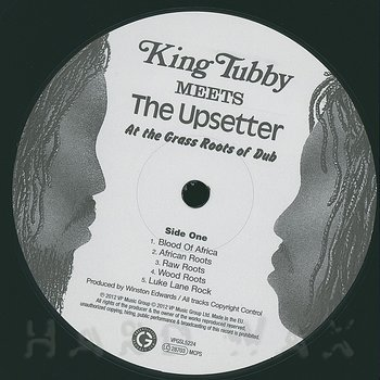 Cover art - King Tubby meets The Upsetter: At The Grass Roots Of Dub
