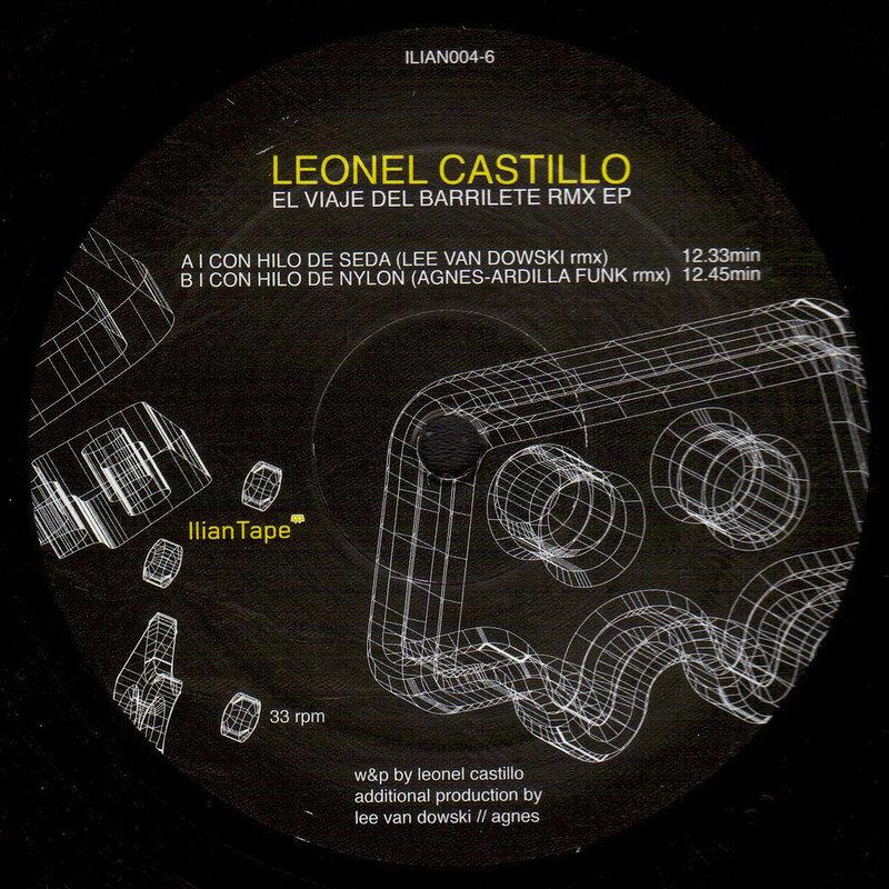 Cover art - Leonel Castillo: El Viaje Del Barrilete Remix EP