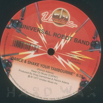 Cover art - Universal Robot Band: Dance & Shake Your Tambourine