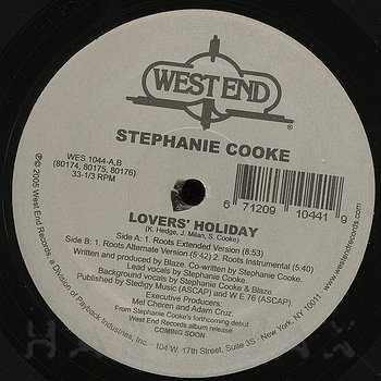 Cover art - Stephanie Cooke: Lovers' Holiday