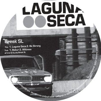 Cover art - Break SL: Laguna Seca