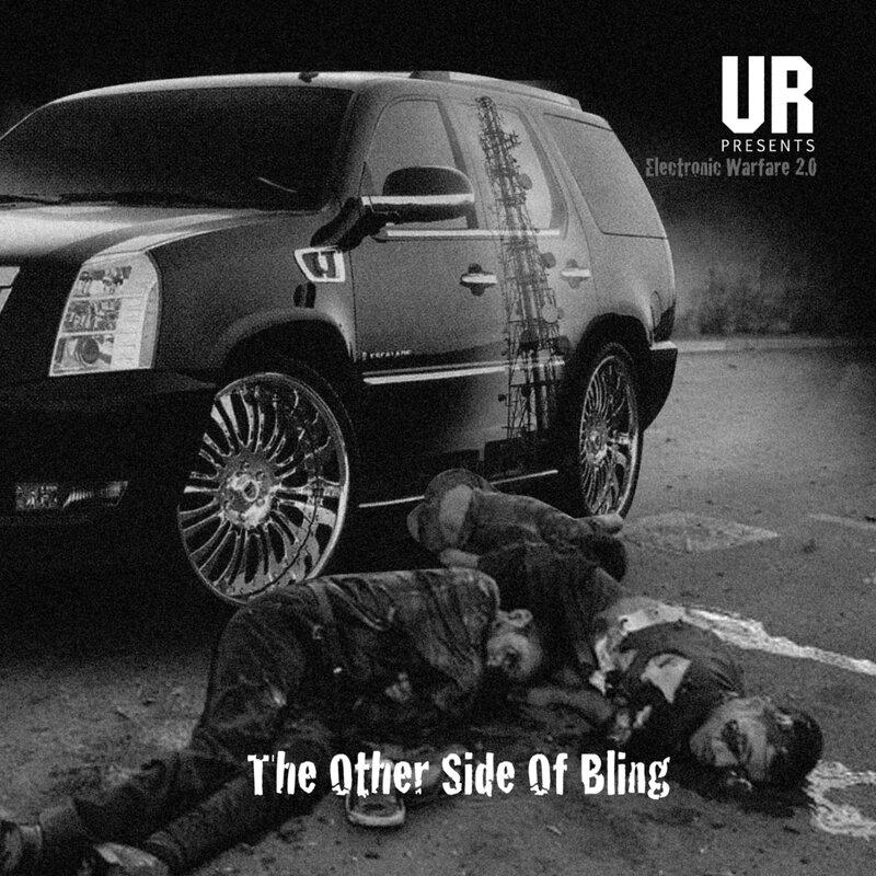 Cover art - Underground Resistance: Electronic Warfare 2.0
