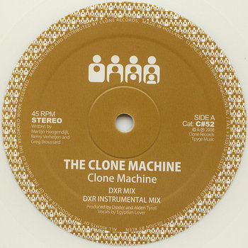 Cover art - The Clone Machine: Clone Machine